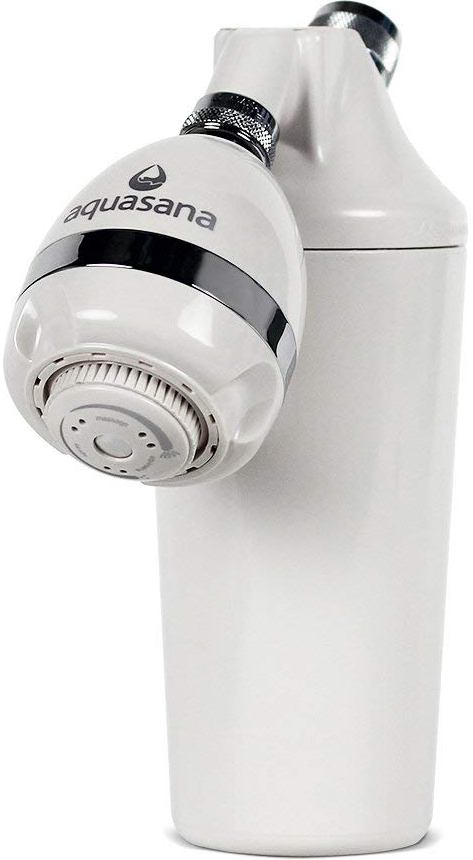 The Aquasana AQ-4100 Deluxe Shower Water Filter with Adjustable Shower Head