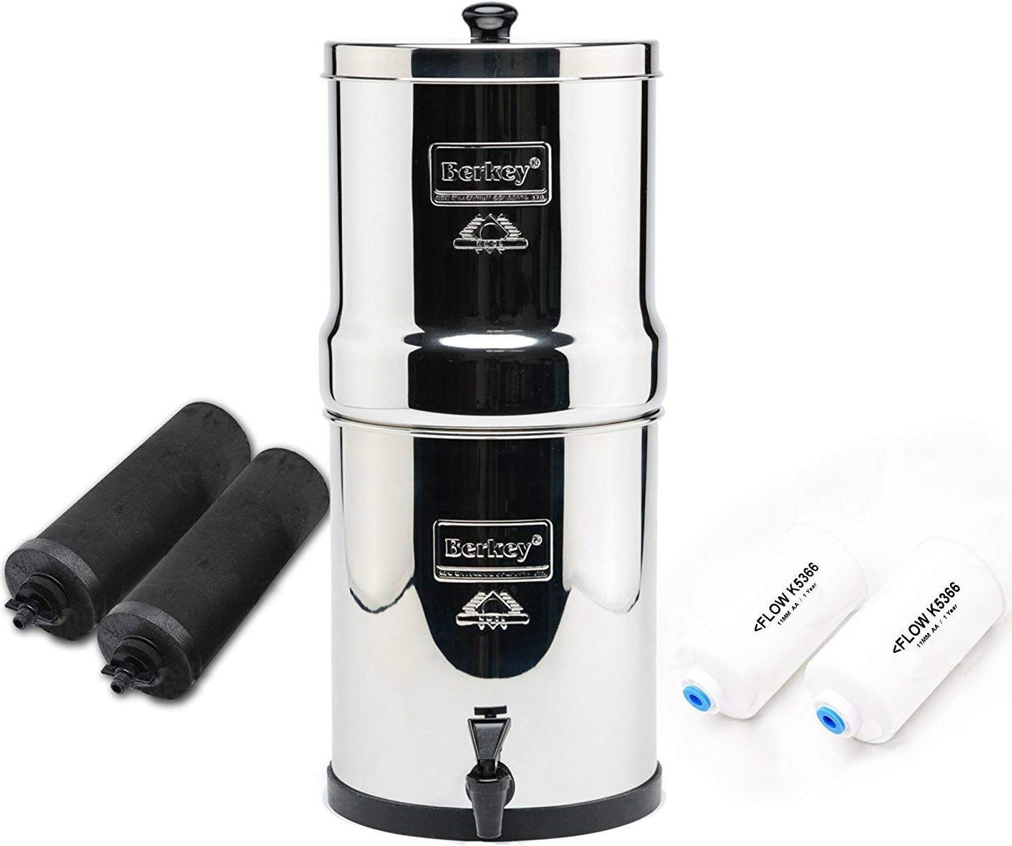 The Travel Berkey Water Filter