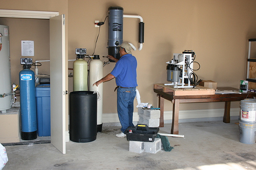 Operating Kinetico Water Softener
